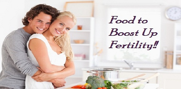 Food to boost up fertility